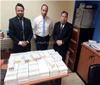 ضبط 120 خرطوشة سجائر إلكترونية بحوزه أوكرانية بمطار شرم الشيخ