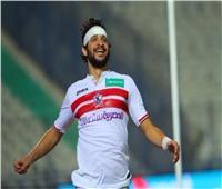 محمود علاء ينتظم في تدريبات الزمالك بعد الإصابة