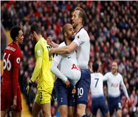 فيديو| توتنهام يسجل هدف التعادل في ليفربول
