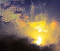الجمعية الفلكية بجدةترصد «غيوم قزحية الألوان»
