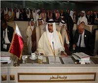 انسحاب أمير قطر من القمة العربية بعيون دبلوماسيين مصريين