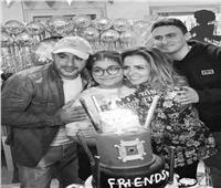 بالصور.. أحمد السقا يحتفل بعيد ميلاد نجلته