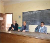 مكافحة الآفات الزراعية في قافلة بجامعة المنوفية