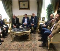 صور| محافظ جنوب سيناء يستقبل السفير الكوري بشرم الشيخ