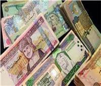 تباين أسعار العملات العربية أمام الجنيه المصري