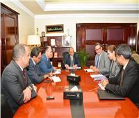شعراوي والبنك الدولي يستعرضان برنامج تنمية الصعيد