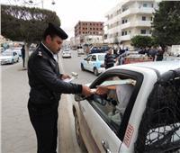 تحرير 4209 مخالفة مرورية متنوعة أثناء القيادة على الطرق السريعة