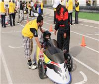 10 جامعات مصرية وإماراتية تتنافس في مسابقة السيارات الهجينة