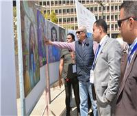 افتتاح «المعرض الفني الثقافي» بجامعة أسيوط لملتقى «أسبوع الشعوب»