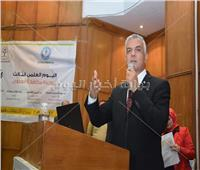 رئيس جامعة المنوفية يفتتح اليوم العلمي لوحدة مكافحة العدوى