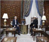 «الطيب» ووزير الإنتاج الحربي يبحثان سبل تعزيز التعاون المشترك