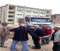 صور| إنقاذ تلاميذ مجمع «إسكو» التعليمي من «الثعابين»