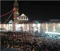 صور  الاحتفال بالليلة الختامية لمولد السيدة زينب.. و«التهامي» يلهب حماس الحضور