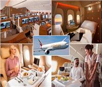 «طيران الإمارات» يحصد جائزة أفضل درجة أولى في العالم |صور