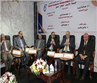يوسف يشهد فعاليات المؤتمر السادس لمستشفى شبين الكوم التعليمى