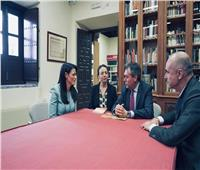نشاط مكثف لـ«المشاط» على هامش مشاركتها في قمة السياحة والسفر بأسبانيا