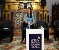 فيديو| أول تعليق لوزيرة السياحة بعد فوزها بجائزة الريادة بإسبانيا