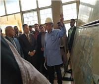 بالصور.. وصول وزير النقل ورش كوم أبو راضي لمتابعة عمليات صيانة عربات الركاب