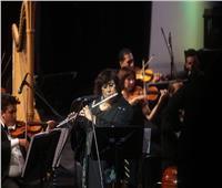 بالصور| «كروان» الحكومة.. إيناس عبدالدايم تعود للعزف من قلب الأوبرا