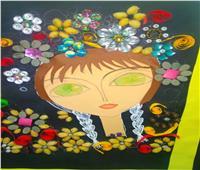 طلاب طور سيناء يبدعون .. لوحات فنيه بالحبوب الزراعية والمخلفات