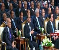 فيديو| الرئيس السيسي يشاهد فيلمًا تسجيليًا «المستقبل يبدأ من هنا»