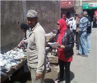 حملة لضبط الأسواق بمدينة طور سيناء