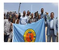 العاملون ببترول خليج السويس يشاركون في حملة تأييد التعديلات الدستورية