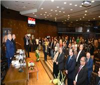 صور..رئيس جامعة القاهرة يفتتح فعاليات يوم المخطوط العربي