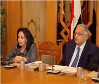 مايا مرسي تشيد بمجهودات وزارة الخارجية