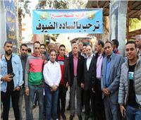 محافظ المنوفية يشهد احتفال قرية طه شبرا بيوم الطفل اليتيم