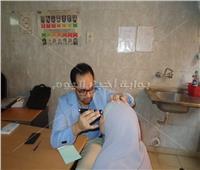 قافلة جامعة المنوفية الطبية تقدم العلاج لـ 200 من أهالي ميت فارس