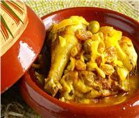 طريقة سهلة وبسيطة لعمل طاجن الدجاج المغربي
