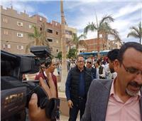 فيديو| العناني و40 سفير أجنبي يصلون منطقة أثار أبيدوس بزفة صعيدي