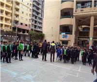 البيئة تنظم حملة لتوعية طلاب دمنهور بيئيا
