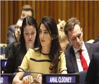المحامية أمل كلوني تقود حملة لحماية الصحفيين