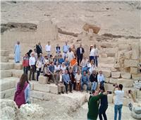 صور| وزير الآثار يتفقد منطقة «أبو حمد» بسوهاج