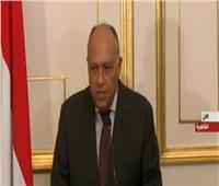 فيديو| سامح شكري: المشاريع «المصرية-الروسية» ضخمة في حجمها وآثارها