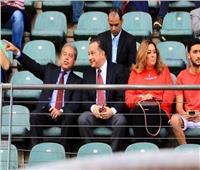 السفير المصري بجنوب أفريقيا يحضر مباراة الأهلي وصن داونز