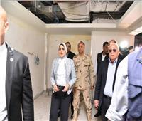 وزيرة الصحة تُوجه بضرورة الانتهاء من تجهيزات مستشفى «بور فؤاد»