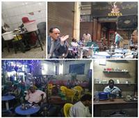 صور| مقهى «جي جي» بوسط البلد.. وطن للسودانيين وسفارة شعبية