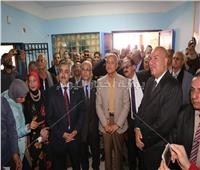 محافظ المنوفية يشهد افتتاح المعرض السنوي الختامي للأنشطة التربوية