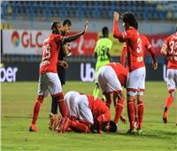 الشوط الأول| الأهلي يتقدم على المصري بهدف وحيد