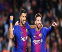 «ميسي وسواريز» يقودان برشلونة للفوز على اتليتكو مدريد بثنائية