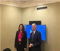 وزيرة التخطيط تلتقي الرئيس التنفيذي للمؤسسة الدولية الإسلامية لتمويل التجارة