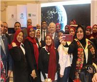 صور| مشاركة قوية لجامعة القاهرة بالمنتدى العالمي للبحث العلمي