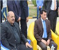 أشرف صبحي يثنى على مستوى الفرسان في ختام كأس مصر للفروسية