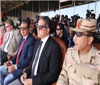 وزير الآثار شهد الاحتفال بمرور 100عامعلى تأسيس منظمة العمل الدولي