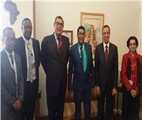 «حفني» و«مفتي» يبحثان سبل تعزيز التعاون بين مصر وإثيوبيا