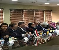جهاز تنمية المشروعات يشارك في فعاليات اللجنة العليا الأردنية المصرية