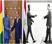 مصر وغينيا.. علاقاتٌ وثيقةٌ على مدار 60 عامًا
